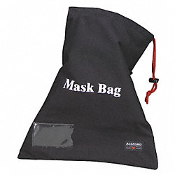 Respirator Storage Bag, Black