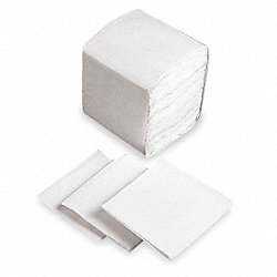 Dispenser Napkin, White, Qtr Fold, PK 6000
