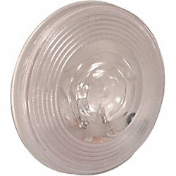 Back Up Lamp, Round, Clear