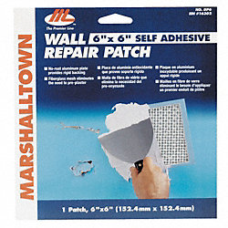 Drywall Patch, 4 x 4 Inches, Self Adhesive
