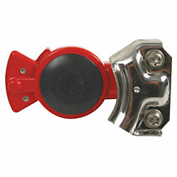 Gladhand, Red, with Seal, PK2