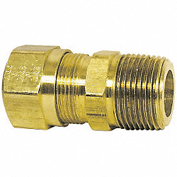 Connector, Male, 1/2x1/2, PK5
