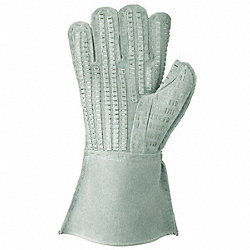 Law Enforcement Glove, L, Gray, PR