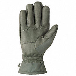 Cold Protection Gloves, L, Green, PR