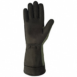Fire Retardant Gloves, L, Sage Green, PR