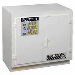 Acid Safety Cabinet, 35-3/4 In. H
