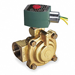 Solenoid Valve, Steam/Hot Water, 1 In