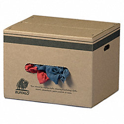 Cloth Rag, Rcycld Cottn Sweats, 25 lb. Box