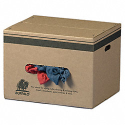 Cloth Rag, Rcycld Cottn, 50 lb.Box