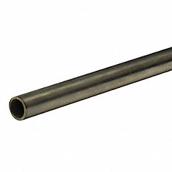 Tubing, Seamless, 3/8 In OD, 6 Ft, 4110 PSI