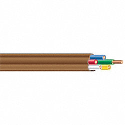 Cable, Thermostat, Brown, 250Ft