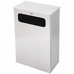 Waste Receptacle, LA Series, Moondust, 7 G