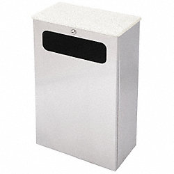 Waste Receptacle, LA Series, Oat, 7 G