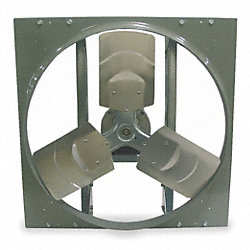 Exhaust/Supply Fan, 24 In, 208-230/460 V