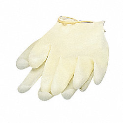Disposable Gloves, Vinyl, M/L, White, PR2