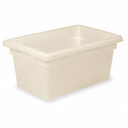 Food/Tote Box, Cap 5 Gal, White