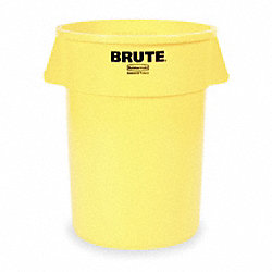 Round Container, 20 G, Yellow