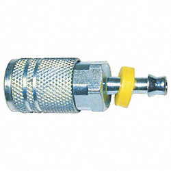 Coupler, Barb Size 1/4 In, Body 1/4 In