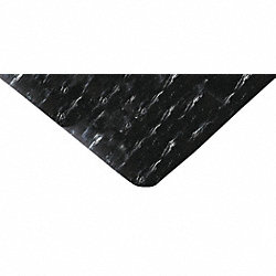 Floor Mat, Anti-Fatigue, Black, 2 x 3 Ft.