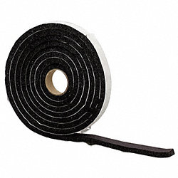 Foam Tape, W 1 1/4 In., L 10 Ft.