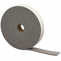 Foam Tape, W 1-1/4 In., L 30 Ft.