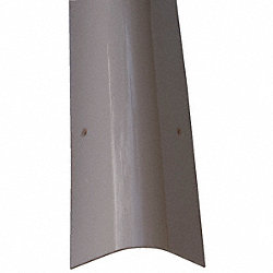 Corner Guard, OAH48In, Gray, Rounded Angle