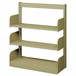 Flat Shelf, Single Face, 3 Shelves