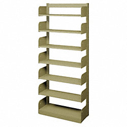 Flat Shelf, Single Face, 7 Shelves