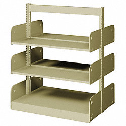 Flat Shelf, Double Face, 6 Shelves
