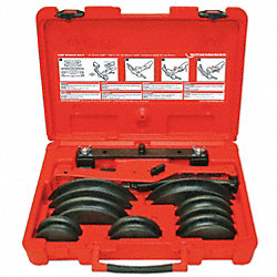 Ratcheting Tubing Bender Set, 3/8-7/8 In