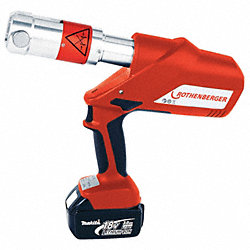 Cordless 12-Ton Crimping Tool, 1/2-4 In