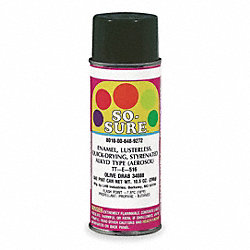 Spray Paint, Olive Drab, 10.5 oz.