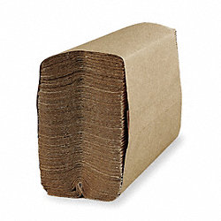 Paper Towel, C-Fold, Brown, PK2400