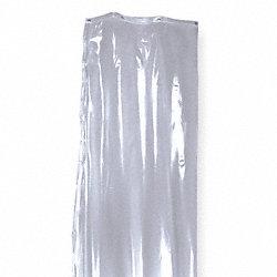 SKILCRAFT Vinyl Shower Curtain, 36 In x 72 In - Washroom ...