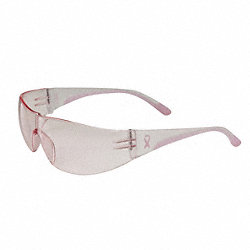Safety Glasses, Pink, Scratch-Resistant