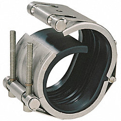 Pipe Coupling, Pipe Size 3 In, 3.7 In L