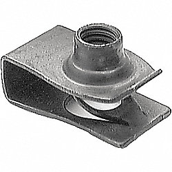 U-Nut, Extruded, Gm Ford Cars, PK 25