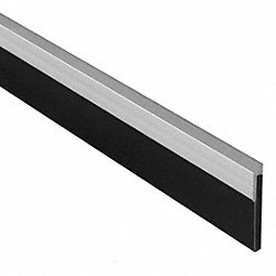 Weatherstrip, Closed Cell, Aluminum, 84 In