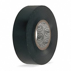 Electrical Tape, 3/4 x 60 ft., 7 mil, Black