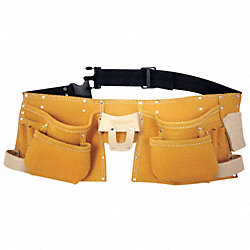 Carpenters Apron w/Belt, 12 Pkt, To 50 In