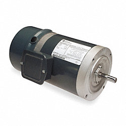 BrakeMtr, 3-Ph, 1/2hp, 1725, 208-230/460, 56C