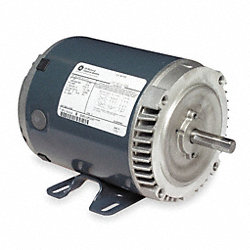 Mtr, 3 Ph, 1/2hp, 1725, 208-230/460, Eff 74.7