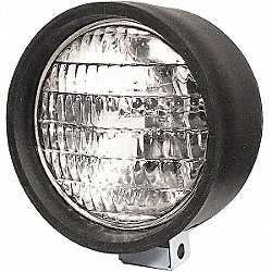 Work Lamp, Round, Clear