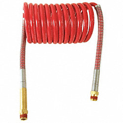 Air Assembly, Red, Coiled, 15 Ft, 12 In Lead