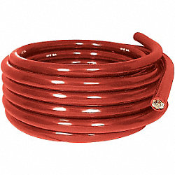 Battery Cable, Red, PVC, AWG 4, 25 Ft.