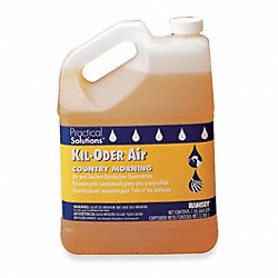 Deodorizer, Size 1 gal., Orange, PK2