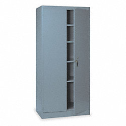 Storage Cabinet, Unassembled, Gray
