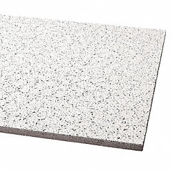 Ceiling Tile, 24 x 48 In, 5/8 In T, Pk 12