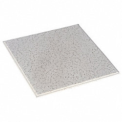 Ceiling Tile, 24 x 24 In, 5/8 In T, Pk 16