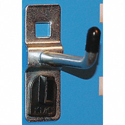 Single Rod Hook, L 3 In, PK 10